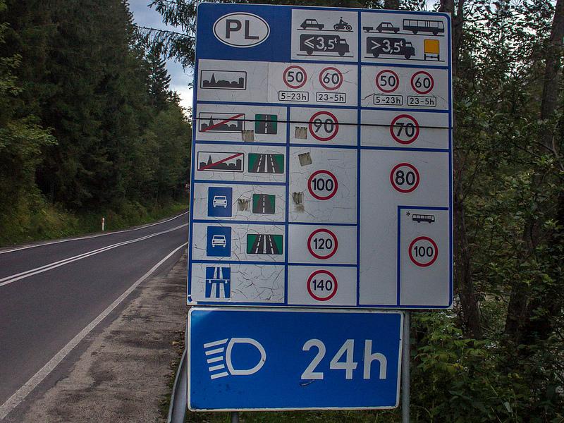 Польша дороги