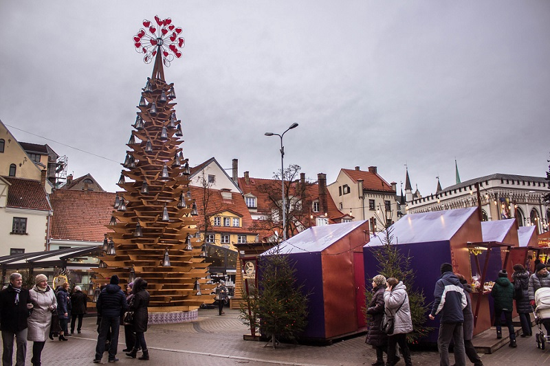 Рига рождественская ярмарка