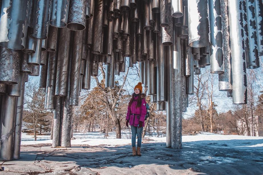 хельсинки памятник сибелиусу