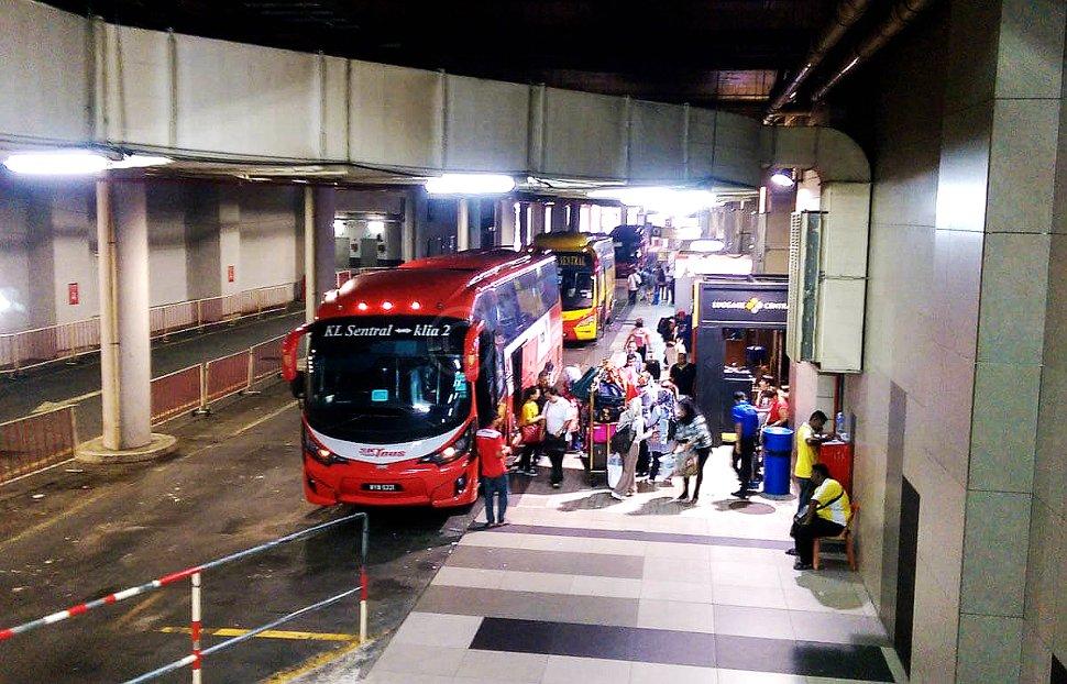 автобус аэропорт Куала-Лумпур