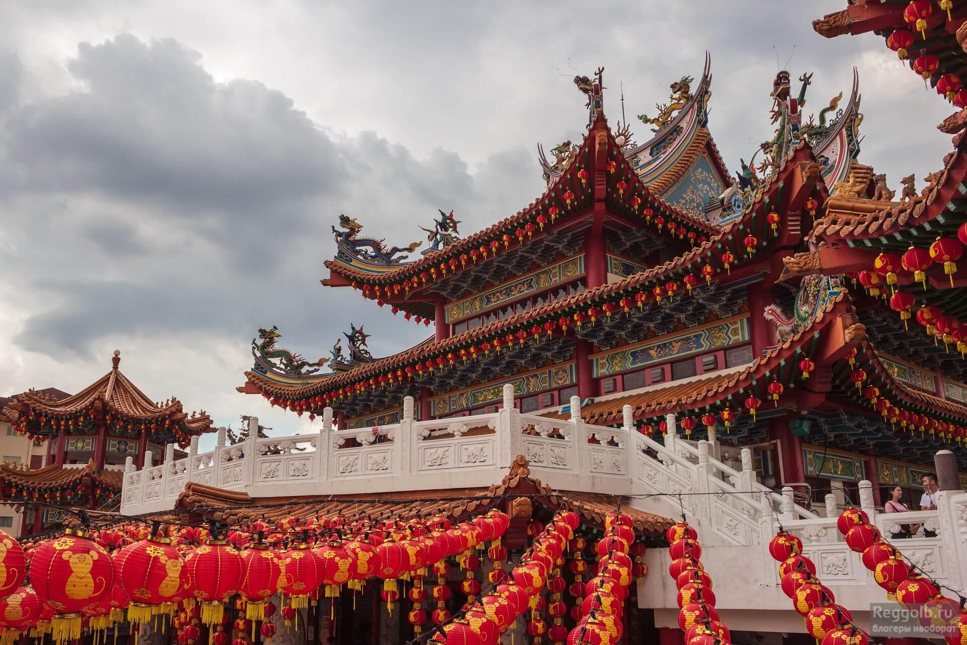 Храм Тянь Хоу Куала Лумпур